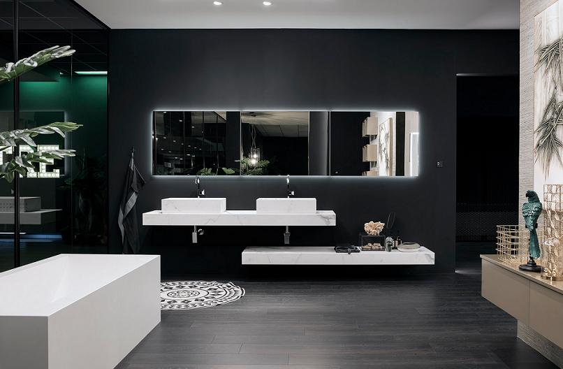 L arredo bagno si ispira al feng shui expo mobili scocca
